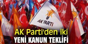 AK Parti'den flaş kanun teklifi