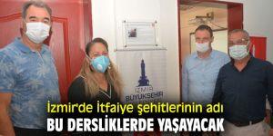 İzmir'de İtfaiye şehitlerinin adı bu dersliklerde yaşayacak