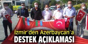Kars Ardahan Iğdır Dostluk Platformu'ndan Azerbaycan'a destek!