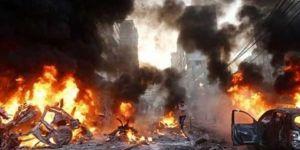 Bomba yüklü araçla saldır! 2 ölü, 6 yaralı