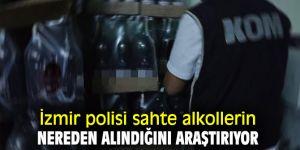 İzmir polisi sahte alkolleri araştırıyor!
