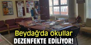 Beydağ Belediyesi, okulları dezenfekte etti!