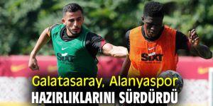 Galatasaray, Alanyaspor maçına hazırlanıyor
