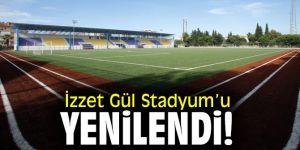 İzzet Gül Stadyum'u yenilendi!