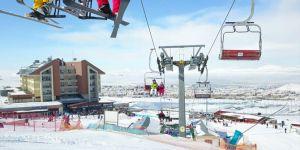 Erzurum Havalimanı kışa hazır