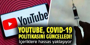YouTube, COVID-19 politikasını güncelledi! İçeriklere hassas yaklaşıyor