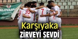 Karşıyaka, Yalovaspor'u 1-0 mağlup etti