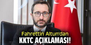 Fahrettin Altun'dan KKTC açıklaması!