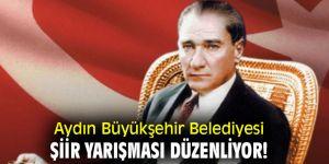 Aydın Büyükşehir Belediyesi, şiir yarışması düzenliyor!