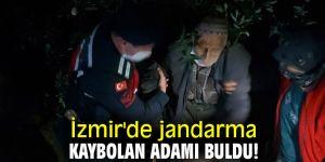 İzmir'de jandarma kaybolan adamı buldu!