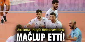 Altekma, İnegöl Belediyespor'u mağlup etti!