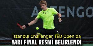 İstanbul Challenger TED Open'da Yarı Final Resmi Belirlendi