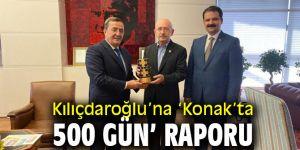 Başkan Batur'dan Kılıçdaroğlu'na 'Konak'ta 500 gün' raporu