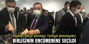Batur Türkiye Belediyeler Birliğinde İzmir'i temsil edecek