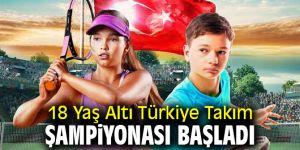 18 Yaş Altı Türkiye Takım Şampiyonası Başladı