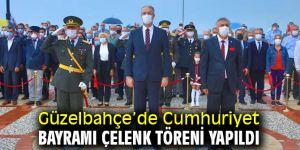 Güzelbahçe'de Cumhuriyet Bayramı Çelenk Töreni!