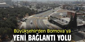Büyükşehir'den Bornova'ya yeni bağlantı yolu