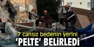 İzmir'de 7 cansız bedenin yerini hassas burunlu 'Pelte' belirledi