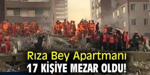 Rıza Bey Apartmanı 17 kişiye mezar oldu!