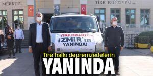 Tire halkı İzmir'in yanında