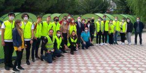 Rotary'den 100 çadırlık yaşam alanı