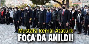 Mustafa Kemal Atatürk, Foça'da anıldı!
