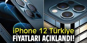 iPhone 12 Türkiye fiyatları!