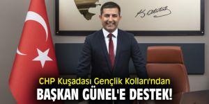 CHP Kuşadası Gençlik Kolları'ndan Başkan Günel'e destek!