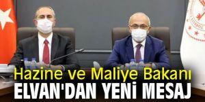 Hazine ve Maliye Bakanı Elvan'dan flaş açıklama!