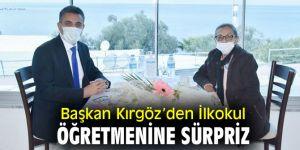 Başkan Kırgöz'den İlkokul Öğretmenine Sürpriz