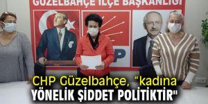 """CHP Güzelbahçe, """"Kadına yönelik şiddet politiktir"""""""