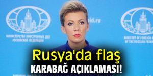 Rusya'da flaş Karabağ açıklaması!
