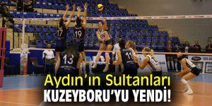 Aydın'ın Sultanları, Kuzeyboru'yu yendi!