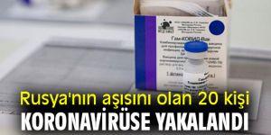 Flaş iddia! Aşı olan 20 kişi koronavirüse yakalandı