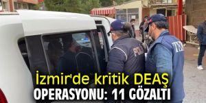 İzmir'de DEAŞ operasyonunda 11 gözaltı