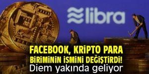 Facebook, kripto para biriminin ismini değiştirdi! Diemyakında geliyor