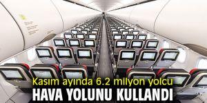 DHMİ açıkladı! Kasım ayında 6.2 milyon yolcu hava yolunu kullandı