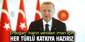 Cumhurbaşkanı Erdoğan'dan flaş Irak açıklaması