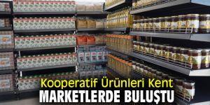 Kooperatif Ürünleri Kent Marketlerde Buluştu