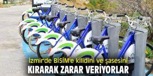 İzmir'de BİSİM'e kilidini ve şasesini kırarak zarar veriyorlar