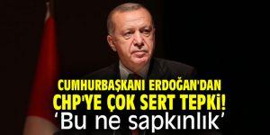Cumhurbaşkanı Erdoğan'dan CHP'ye çok sert tepki: