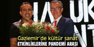 Gaziemir'de kültür sanat etkinliklerine korona molası