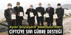 Aydın Büyükşehir Belediyesi'nden çiftçiye büyük destek