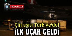 Çin aşısı Türkiye'de! İlk uçak geldi