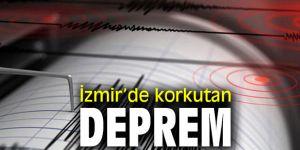 İzmir'de korkutan deprem...