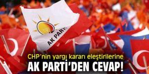 AK Parti'den CHP'ye yolsuzluk cevabı