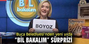 """Buca Belediyesi'nden yeni yılda """"Bil Bakalım"""" sürprizi"""