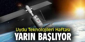 Uydu Teknolojileri Haftası başlıyor!
