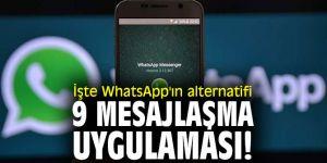 İşte WhatsApp'ın alternatif 9 mesajlaşma uygulaması!