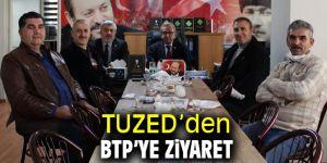 TUZED'den BTP'ye ziyaret